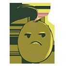 Emoji molesto