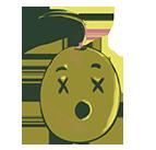 Emoji muerto
