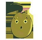 Emoji sorprendido