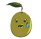 Emoji tenso